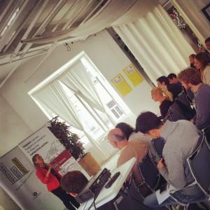 Prvi modul Investment Ready akademije.  Foto: Vienna Impact Hub